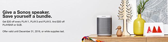 Sonos speaker saat ini tersedia pada potonganharga